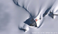 <h5>Pyramids In Antarctica</h5><p>Google Maps imagery showing the locations of what is believed to be pyramids located in Antarctica.</p>
