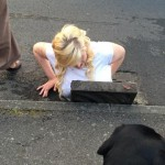 Britain Teen Stuck In Drain