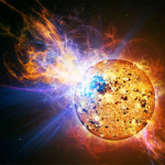 Solar storm blasts Earth