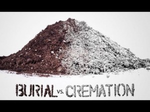 Does it cost more to be cremated or buried