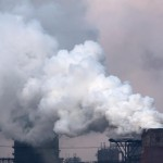 Pollution arrives on winds from China
