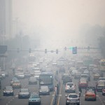 Choking smog in China