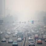 Choking smog in China