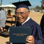 89-year-old Californian gets to graduate