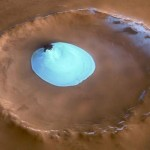 Life-friendly lake on mars