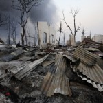 Meiktila, Myanmar – Muslims massacred
