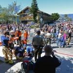 Spring break riot