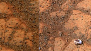 A mystery Mars Rock