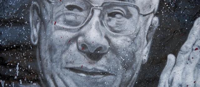 Dalai Lama at the Glastonbury Festival