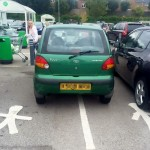Fellow Motorists Scold Driver For Bad Parking Job