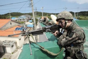 military hazing In South Korea