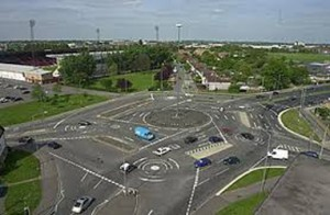 Scariest Streets - The Magic Roundabout - Swindon, England
