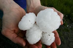 Hailstone balls