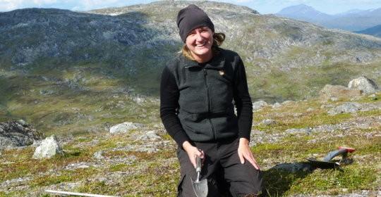 Arctic soil frost