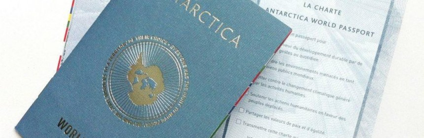 Antarctica World Passport