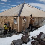 Antarctica team uncovers century-old artefacts from Douglas Mawson hut