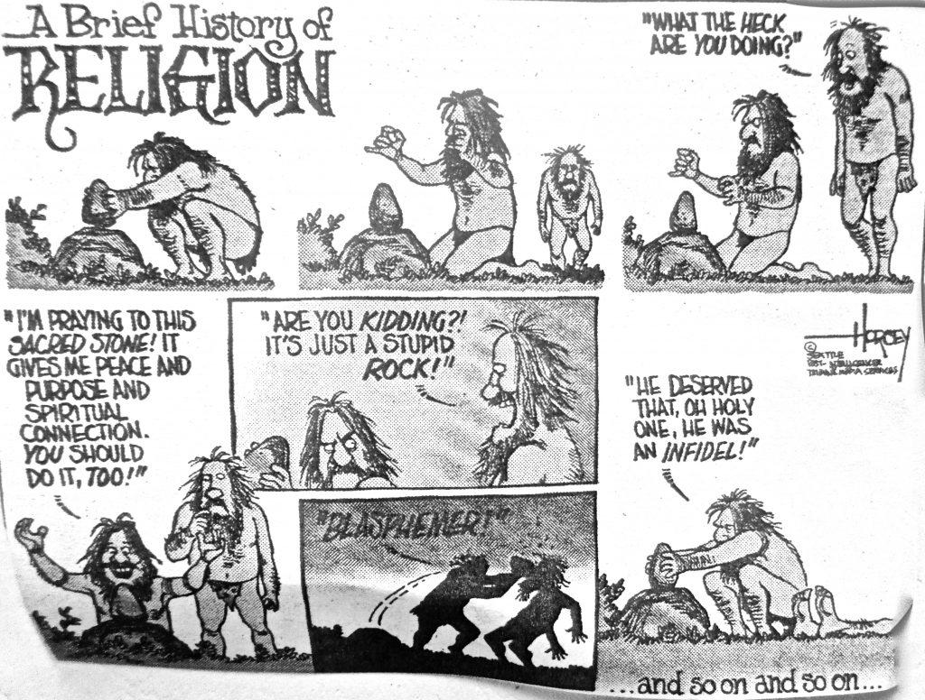 Cartoon A Brief History Of Religion