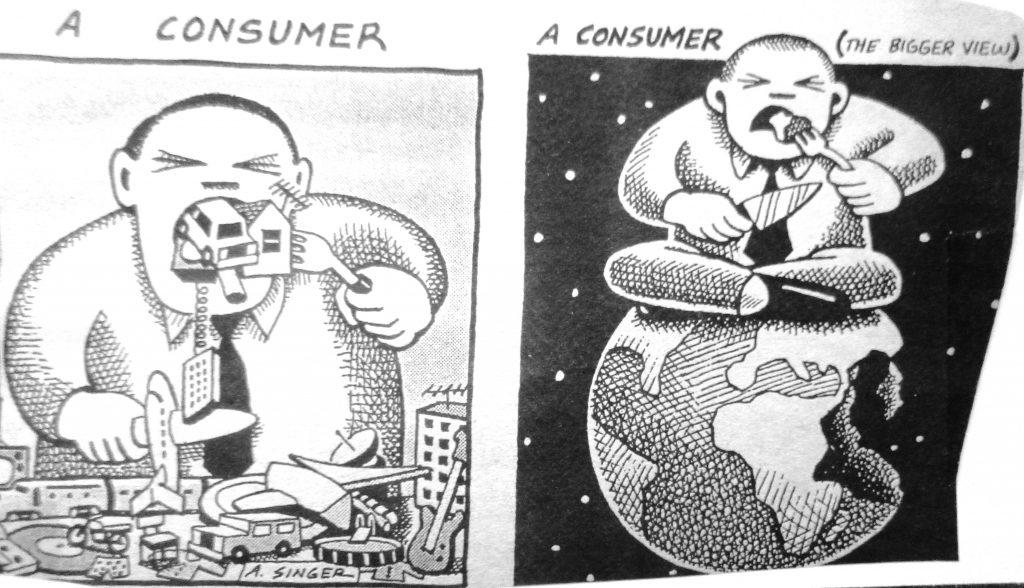Cartoon A Consumer