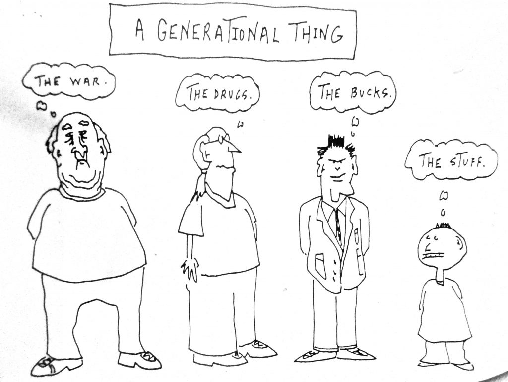 Cartoon A Generational Thing