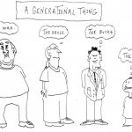 Cartoon – A Generational Thing