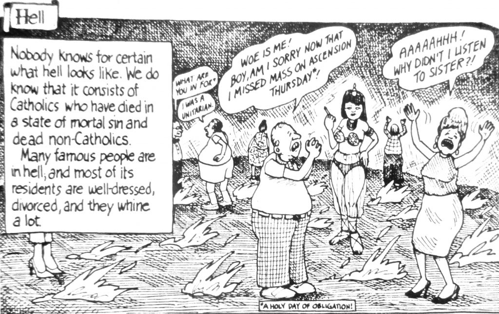 Cartoon A Holy Day Of Obligation
