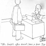 Cartoon – Aggressive Salesman Wanted