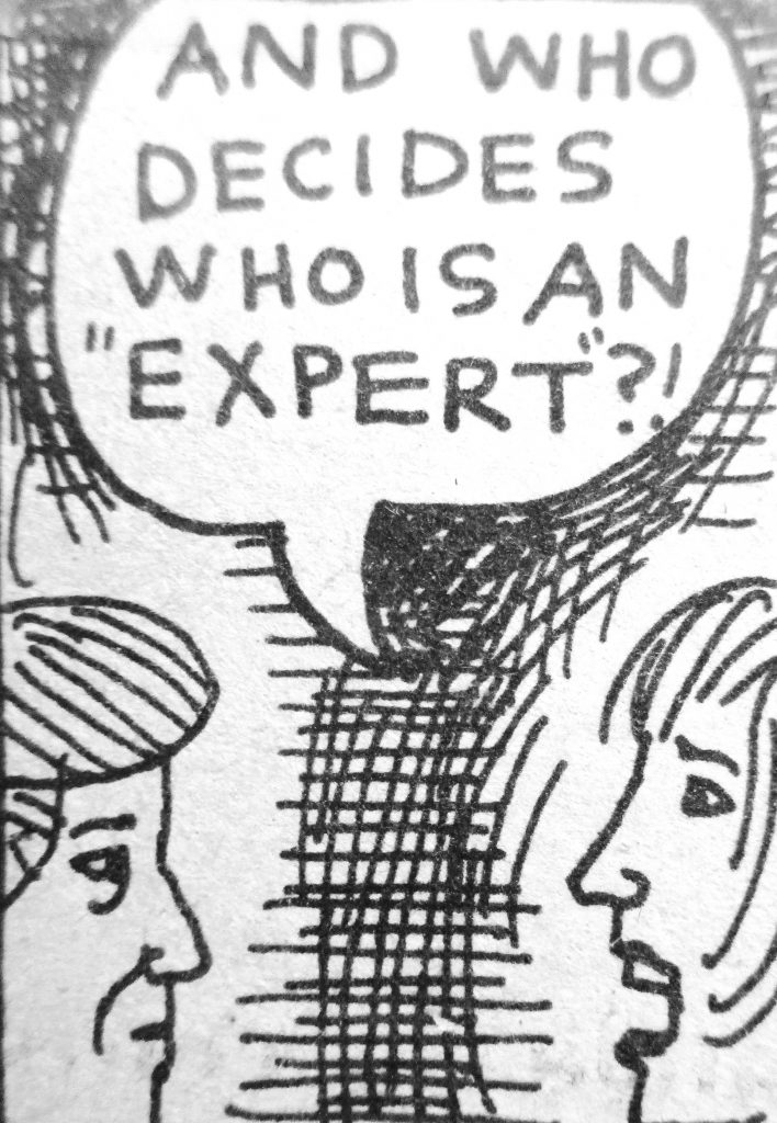 Cartoon And Who Decides Who Is An Expert