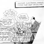 Cartoon – Supermarket Technology
