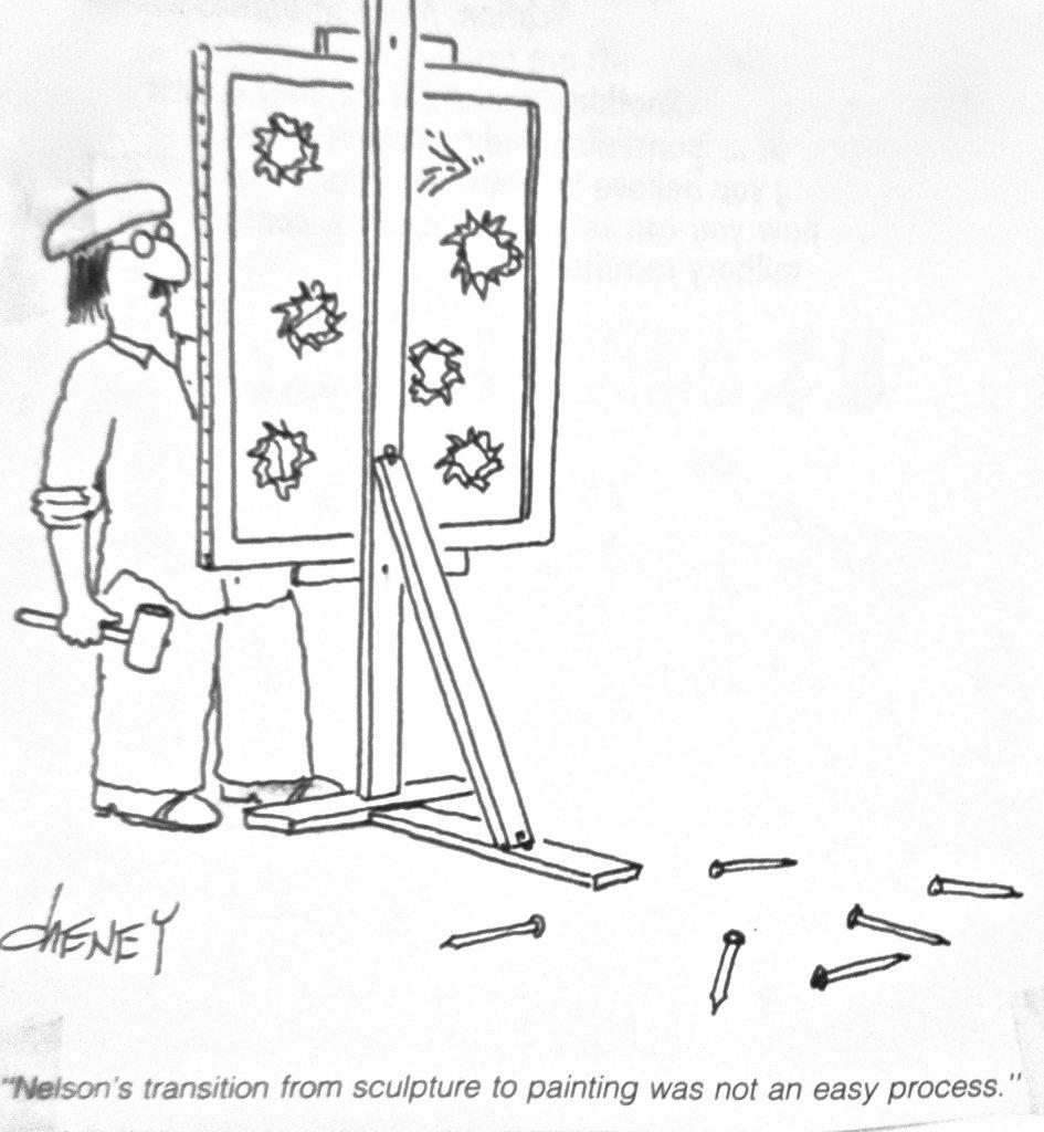 Cartoon Artistic Woes