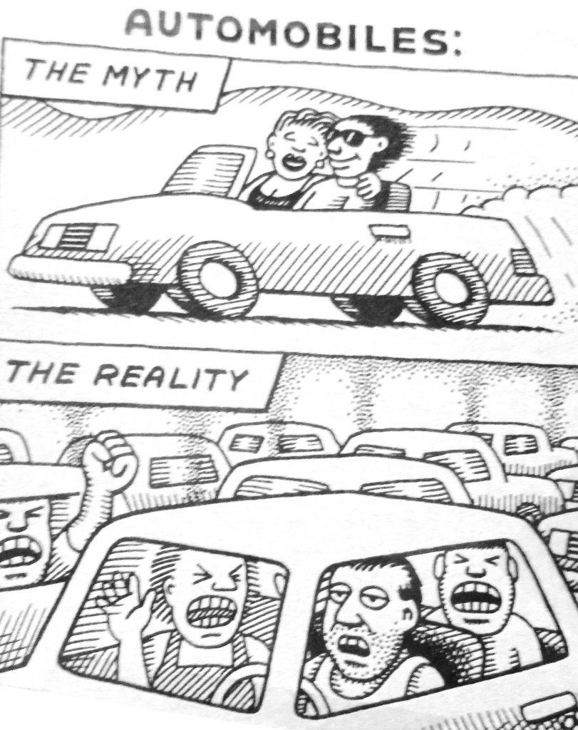 Cartoon Automobiles The Myth The Reality