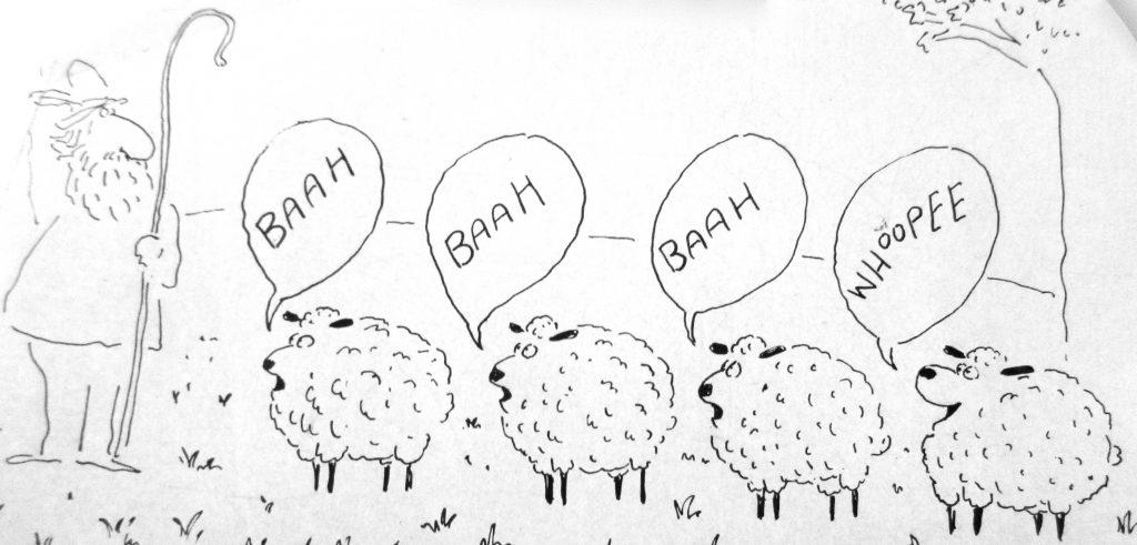Cartoon Baah Whoopee