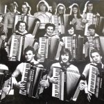 Cartoon – Back when accordions were cool