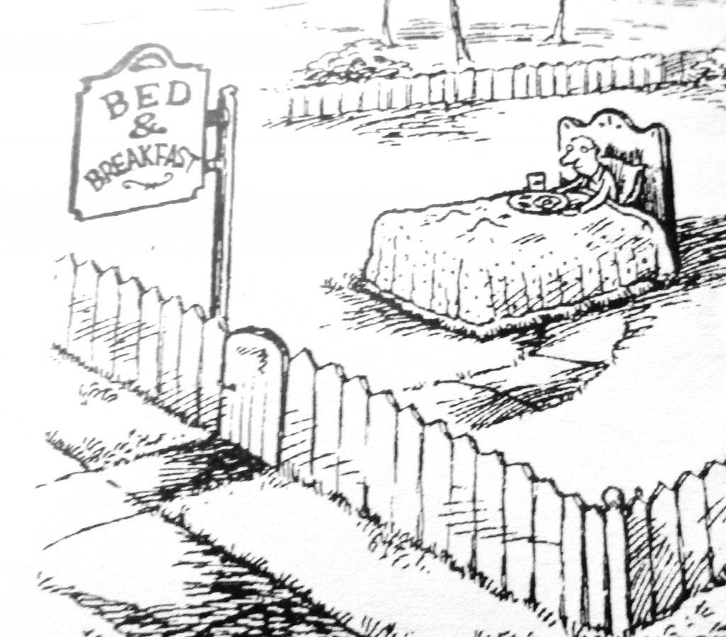 Cartoon Bed and Breakfast