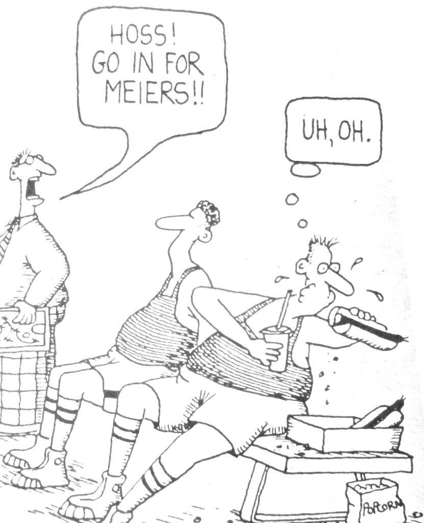 Cartoon Benchwarmers