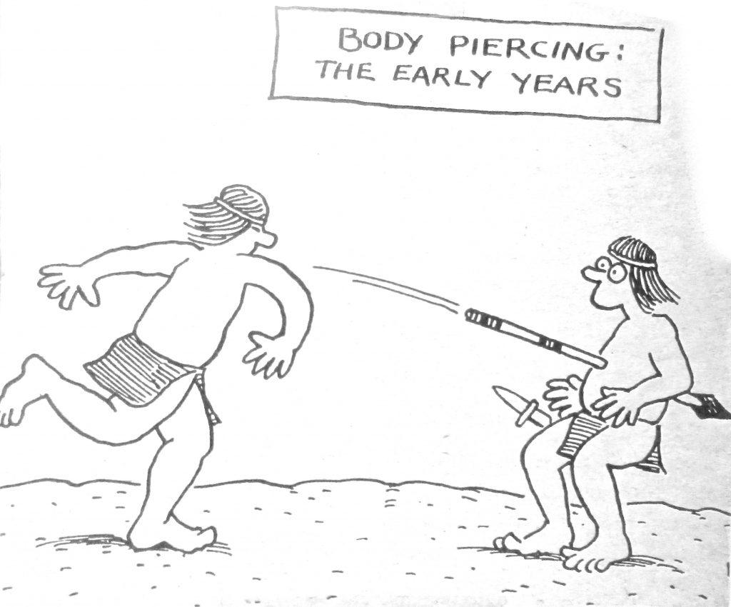 Cartoon Body Piercing The Early Years