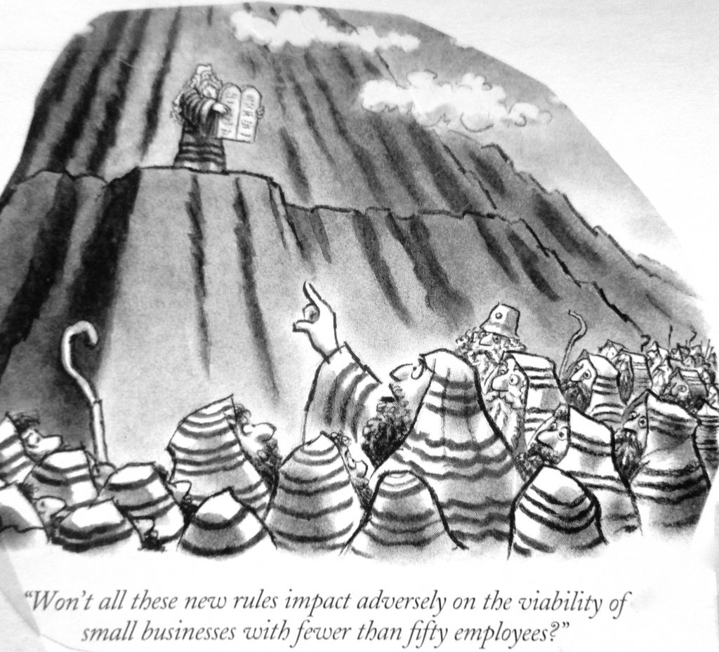 Cartoon Business And The 12 Commandments