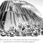 Cartoon – Business And The 12 Commandments