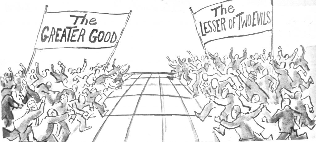Cartoon Clash of the outcomes