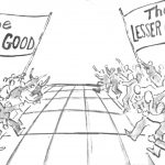 Cartoon – Clash of The Outcomes