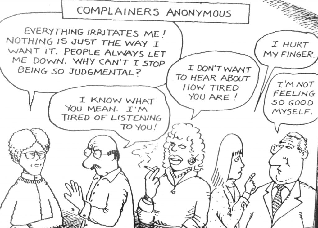 Cartoon Complainers Anonymous