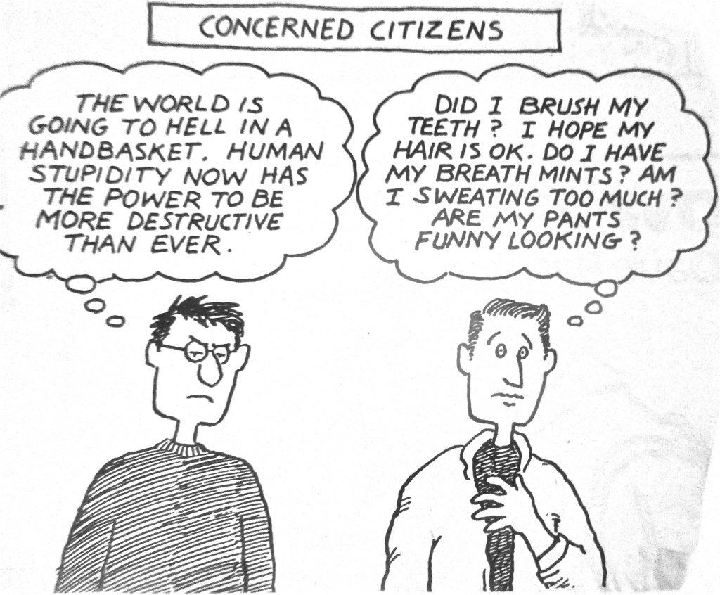 Cartoon Concerned Citizens
