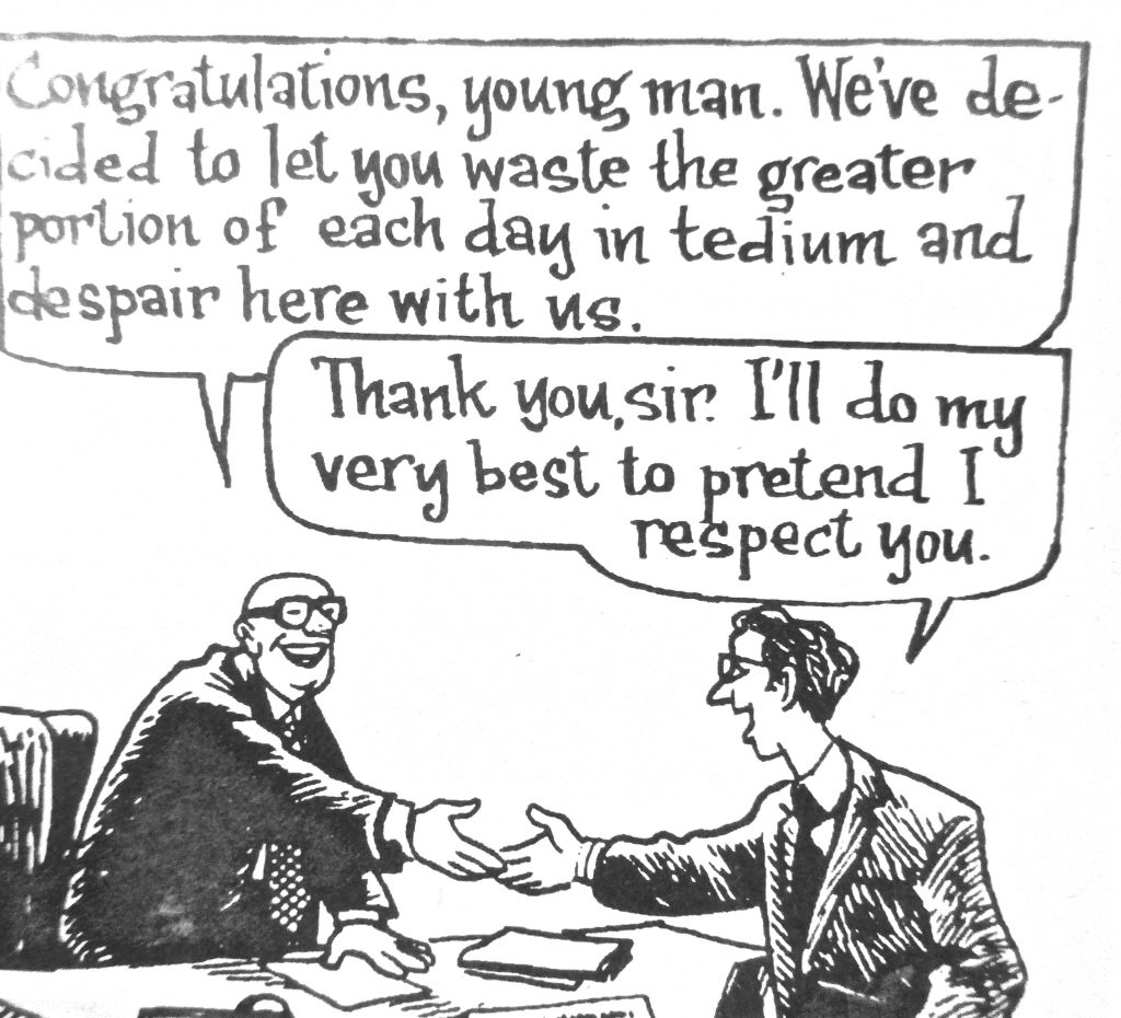 Cartoon Congratulations Young Man