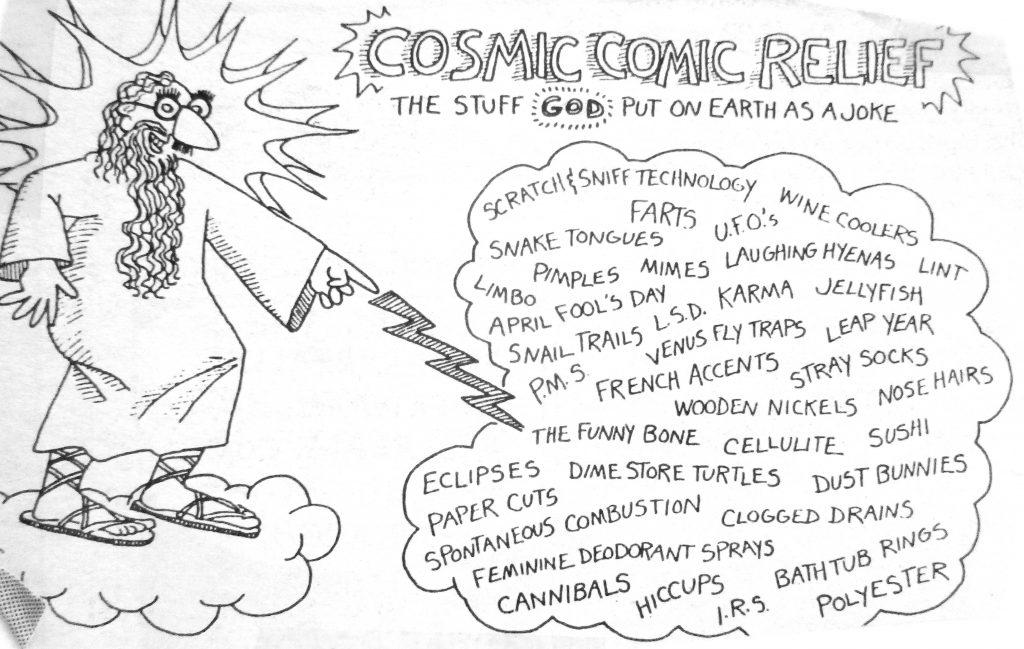 Cartoon Cosmic Comic Relief