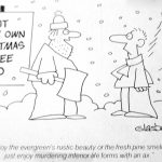 Cartoon – Cut Your Own Christmas Tree