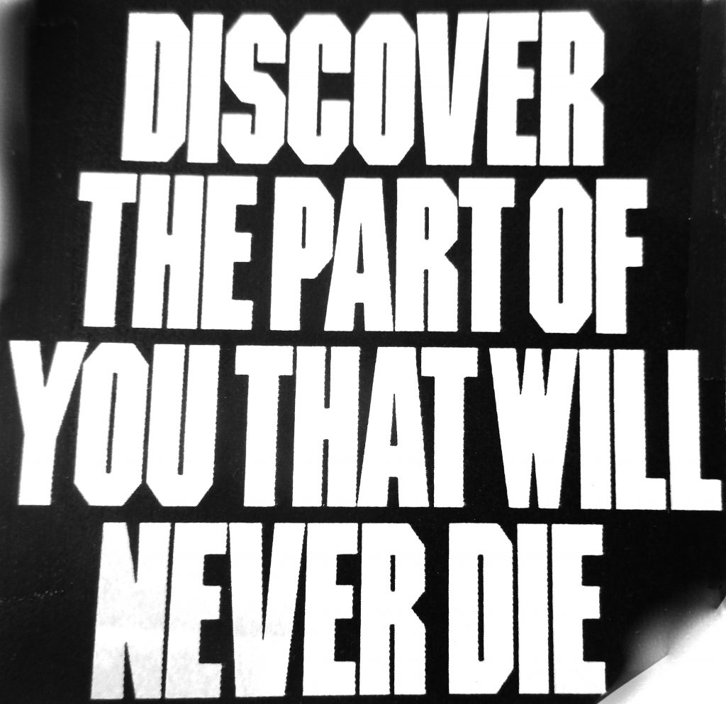Cartoon Discover The Part Of You That Will Never Die