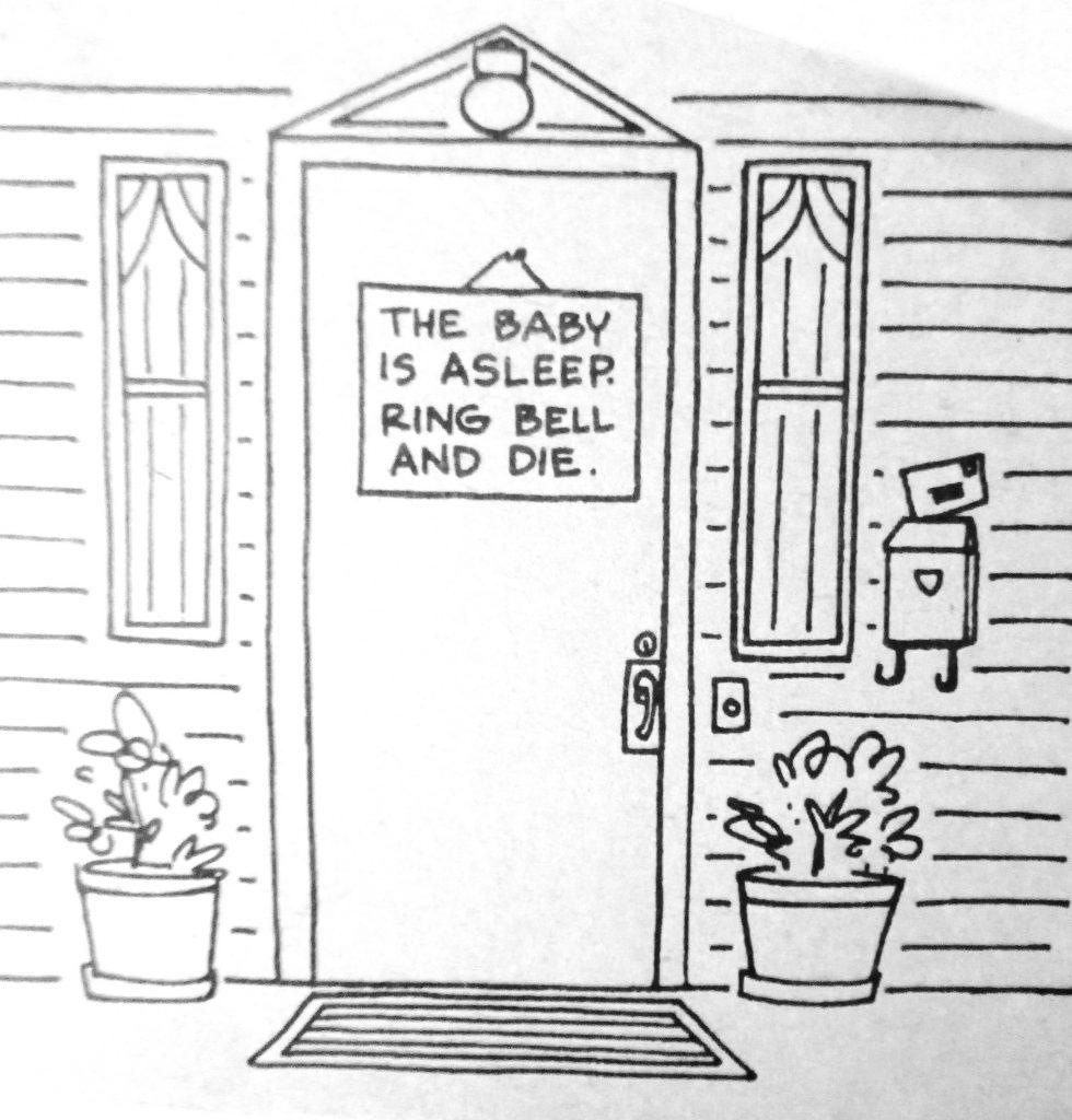 Cartoon Do Not Disturb