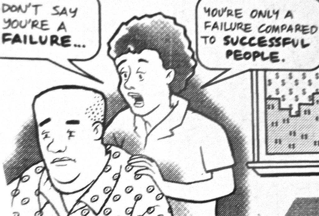 Cartoon Dont Say Youre A Failure