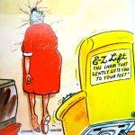Cartoon – E Z Lift a pult