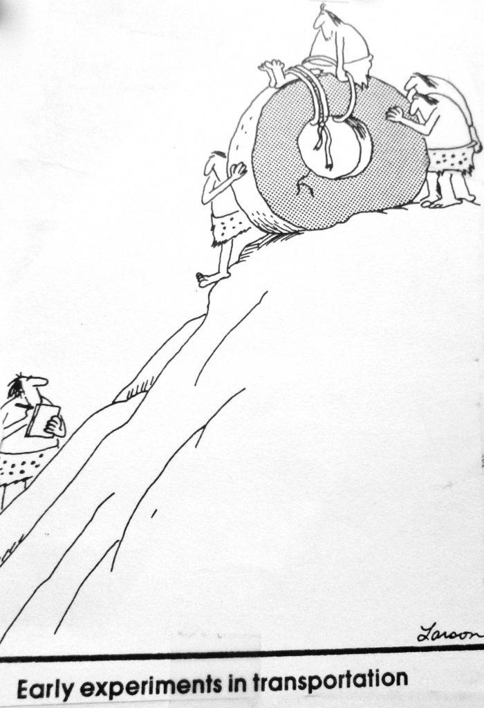 Cartoon Early Experiments In Transportation