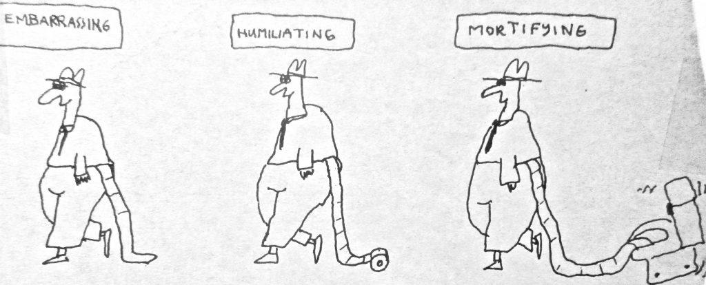 Cartoon Embarrassing